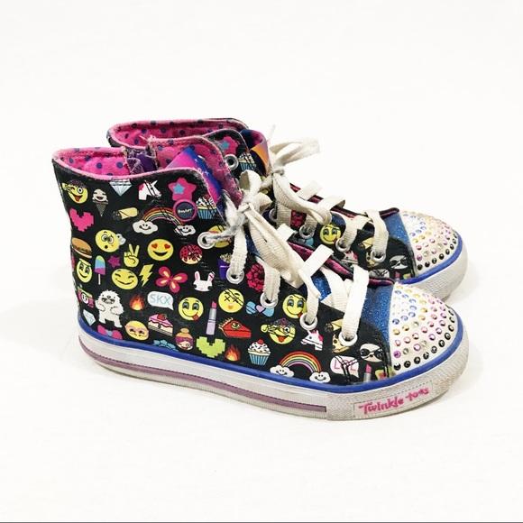 Twinkle Toes Shoes   Emoji Hightops